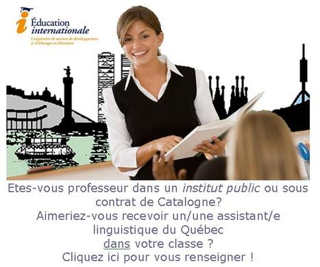 Impuls a l'ús de la llengua francesa » QUÉBEC | Français Langue Etrangère et Technologies | Scoop.it
