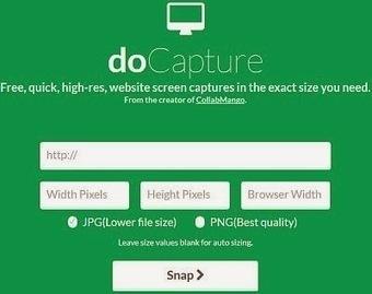 Faire une capture d'écran d'une page Web complète sans logiciel | Outils et pratiques du web | Scoop.it