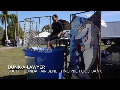 Dunk-A-Lawyer at the South Florida Fair 2014 | Florida Auto Accidents Attorney News | Scoop.it