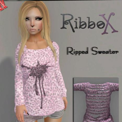 Ripped Sweater Group Gift by Ribbox | Teleport Hub - Second Life Freebies | Second Life Freebies | Scoop.it