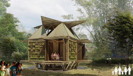 low-cost bamboo housing in vietnam by H&P architects | The Architecture of the City | Scoop.it