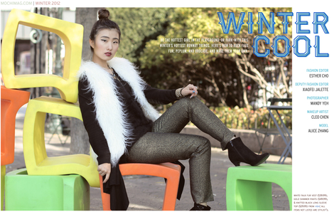 Winter 2012 Fashion Trends & Styles | Mochi Magazine | Everything's Hair | Scoop.it