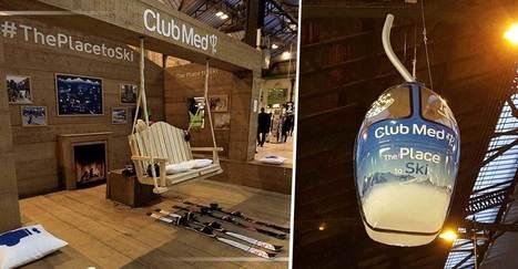Le Club Med transforme la gare de Lyon en station de ski éphémère ! | Ecobiz tourisme - club euro alpin | Scoop.it