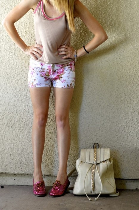 Top and Floral Shorts | Fashion Trends | Scoop.it