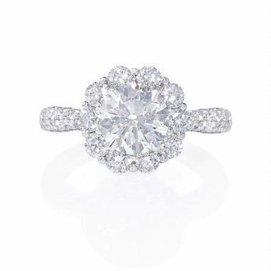 Diamond 18k White Gold Engagement Ring Setting | Diamond Engagement Rings | Scoop.it