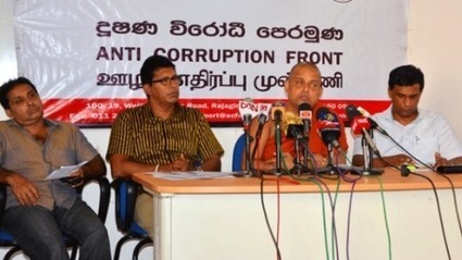 Anti Corruption Front exposes charges to 'Nilame' | Tamil News | Scoop.it