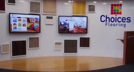 Le concept phygital de l'enseigne Choices Flooring   La Minute Retail   Quand E-xperience rime avec vente   Scoop.it