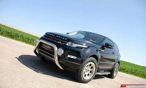 Official: Loder1899 Range Rover Evoque Off-Road | RR Evoque | Scoop.it