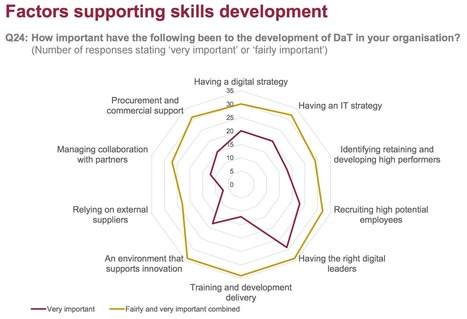 Three key charts from the 'Digital Skills Gap in Government' report | Profile of the future HR leader | Scoop.it