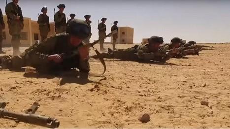 Images impressionnantes du premier entraînement des paras russes et égyptiens en Afrique (VIDEOS)   Histoire de la Fin de la Croissance   Scoop.it