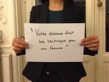«Votre discours était très technique pour une femme» - Rue89 | Mission Égalité URCA | Scoop.it