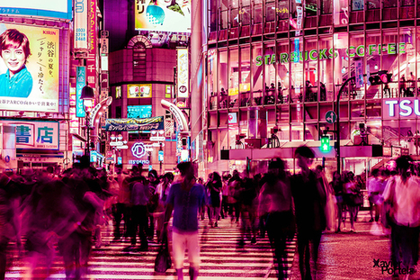 Glowing Nighttime Photos of Tokyo Saturated in Electric Pink | Le It e Amo ✪ | Scoop.it