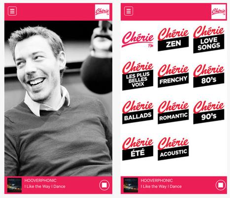 Une nouvelle application pour Chérie FM Belgique | Milieu musical en Belgique | Scoop.it