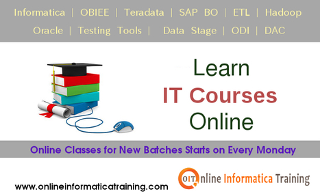 Learn IT Courses under the Guidance of Professional Trainers | Build your bright career with online training by online informatica training institute | Scoop.it
