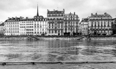 Poetic B&W Photos Reveal an Underwater Paris as Flooding Begins to Subside | Le It e Amo ✪ | Scoop.it