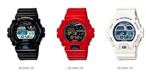 Casio's smartphone-ready G-Shock watch set to hit Japan in March | Technology and Gadgets | Scoop.it