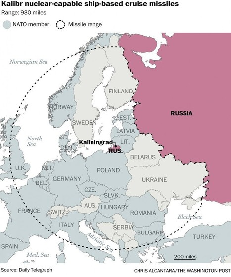 These maps show how Russia has Europe spooked | Russia | Scoop.it