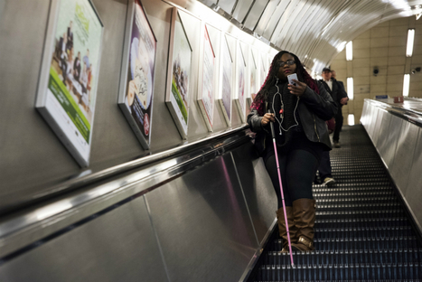 Bluetooth beacons are helping the blind navigate London's Tube | industrial design | Scoop.it