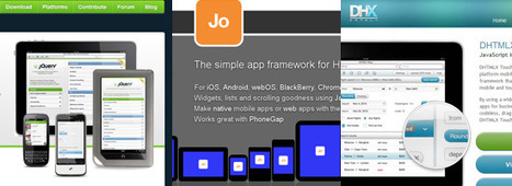 Top 10 Mobile Web Development JavaScript Frameworks - Six Revisions | pathlead | Scoop.it