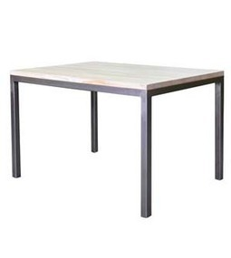 Dadra | Mesas de hierro y madera estilo industrial medida | MESA COMEDOR HIERRO Y MADERA ALISTONADA NEO | Muebles de estilo industrial de hierro | Scoop.it