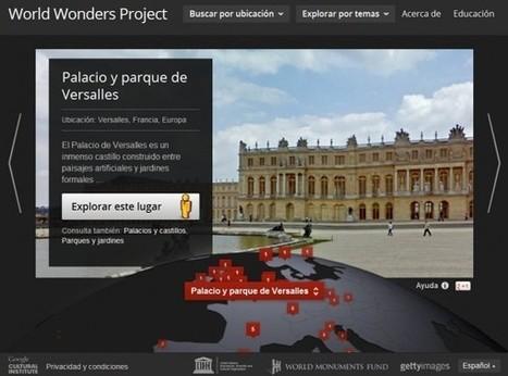 Google presenta World Wonders Project, para conocer mejor el mundo que nos rodea | Integrando TIC al aula | Scoop.it