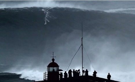 Nazaré, Portugal serves up nearly-lethal surf [video] | Greenplan | Scoop.it