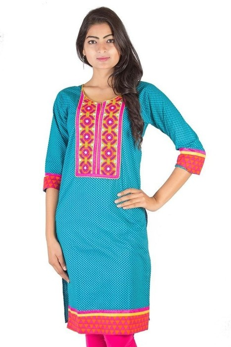 Moksha Fashions Fashion Trends and Blog - Buy Casual Kurtis Online For Women | Nice one | Scoop.it