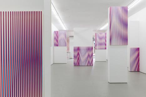 Philippe Decrauzat: Pour Tout Diviser at Elizabeth Dee (NYC) | Abstract Art | Scoop.it