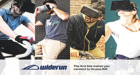 The Widerun: immersive VR 3D biking experience | Stock News Desk | Scoop.it