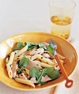 Penne With Salmon, Arugula, and Chives | Pasta Regina | Scoop.it