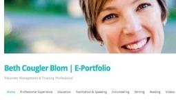 Developing an e-portfolio – Beth Cougler Blom | Educational Technology | Scoop.it