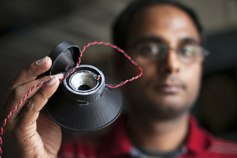 cornell researchers 3D print a fully functional loudspeaker | books | Scoop.it