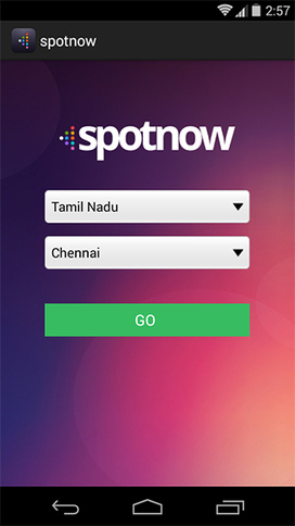 Agriya launches an outstanding android application - SpotNow - Agriya   Android Application   Scoop.it