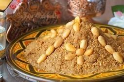 Sellou sfouf marocain traditionnel | Gâteaux algériens modernes & traditionnels | Scoop.it