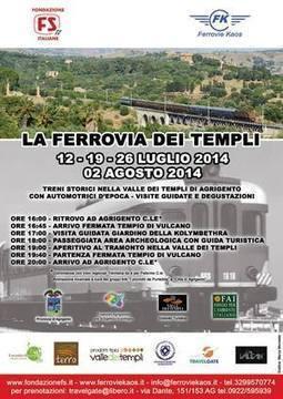 Viaggio in Sicilia con il Treno nella Valle dei Templi | Marketing & Publicity | Scoop.it