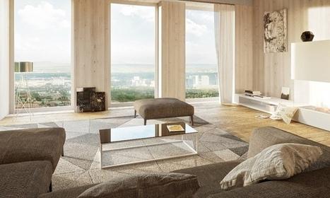 Vienna: il grattacielo di legno più alto del mondo | Rinnovabili | Casa passiva | Scoop.it