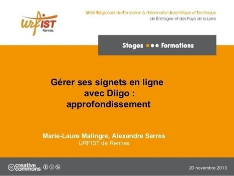 Gérer ses signets en ligne avec Diigo : approfondissement | Bibliothèques, Info-Doc et Innovation | Scoop.it
