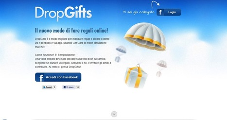 Social Gift: con Dropgifts i regali si fanno su Facebook | Social media culture | Scoop.it