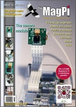 The MagPi issue 14, out today! | Raspberry Pi | Raspberry Pi | Scoop.it