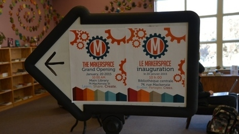 Greater Sudbury Public Library's 'Makerspace' has cool new tools | SocialLibrary | Scoop.it