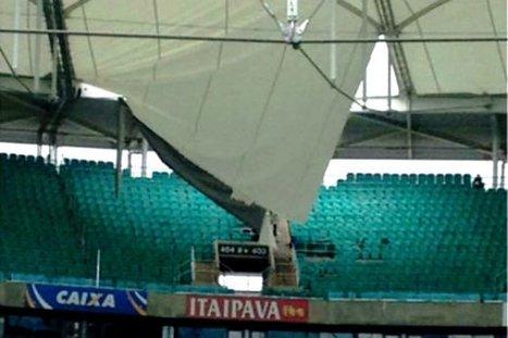 Cae parte del techo de estadio sede de la Copa Confederaciones | fútbol Total | Scoop.it