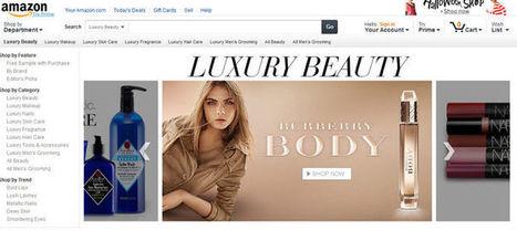 AMAZON lance un site consacré aux cosmétiques haut de gamme - 11/10/13 | Beauté cosmétologie | Scoop.it
