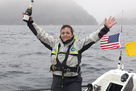 'Absolutely ecstatic': British woman is first to row solo from Japan to Alaska - NBCNews.com (blog) | I love boating | Scoop.it