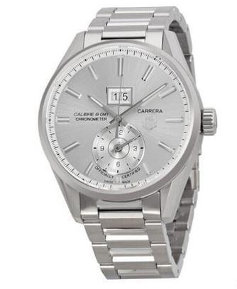 Replica TAG Heuer Carrera Silver Dial Stainless Steel WAR5011BA0723 Review | Cheap Replica Tag Heuer Watches | Scoop.it