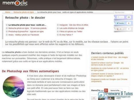 Le site du jour : tour d'horizon des outils de retouche photo en ligne | Photographie numérique | Scoop.it