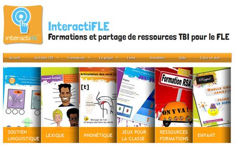 Formations et partage de ressources TBI pour le FLE et aussi pour toutes disciplines | | Moisson sur la toile: sélection à partager! | Scoop.it