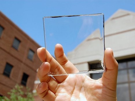 This Clear Plastic Material Harvests Solar Energy Without You Even Knowing It's There | IBIN Sustainable Energy News | Scoop.it
