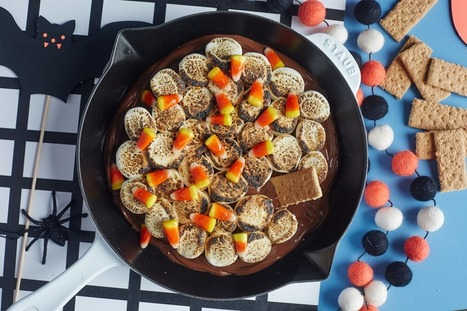 Halloween S'mores Skillet — 10 Spooky Marshmallow Treats | ♨ Family & Food ♨ | Scoop.it