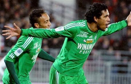 Saint-Étienne : Brandao et Aubameyang reverdissent! - Le Pays BHM   Le monde du football   Scoop.it