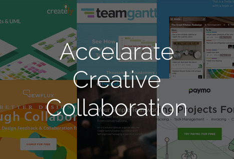 15 Online Tools To Accelerate Creative Collaboration | Collaboration in Online Courses | Scoop.it